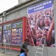 Пазят стълбовете в Бургас с боя срещу плакати