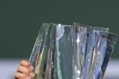 Взеха трофея на Веснина от Индиън Уелс (видео)
