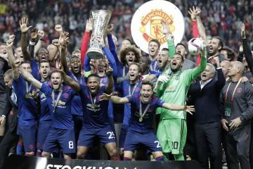 """""""Юнайтед"""" спаси сезона след триумф в Лига Европа"""