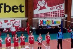 ЦСКА излезе начело в женското първенство