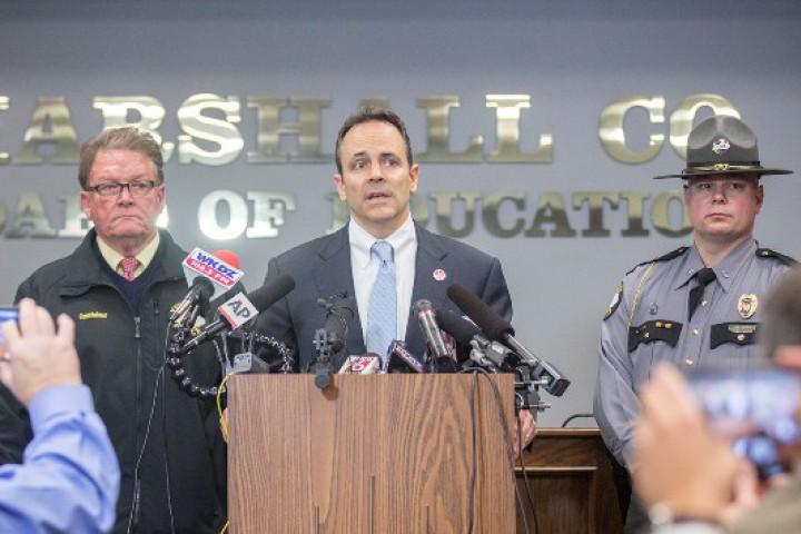 Стрелбата в училище в американския град Бентън, в селски район