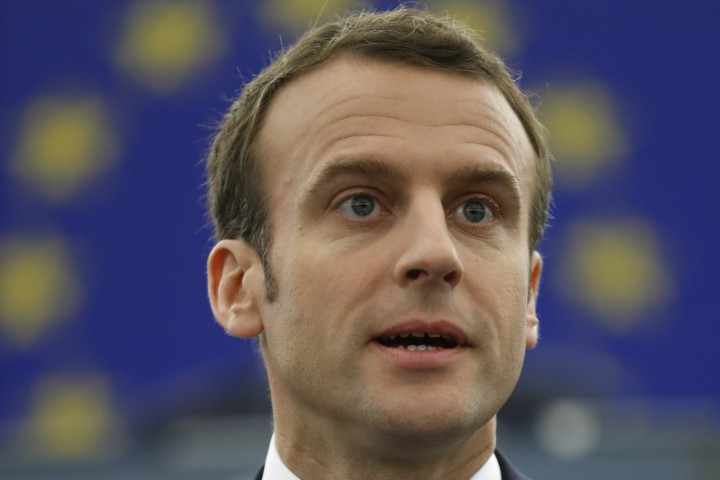 Това заяви днес френският президент Еманюел Макрон в реч пред