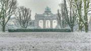 Заснежен парк