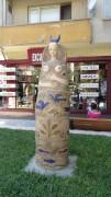 Madam Tulip | Скулптура на главната търговска улица | 9 харесвания