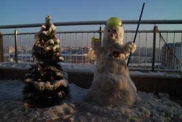 Eny78 | Зимна приказка на балкона | 14 харесвания